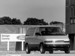 1987 Ford Escort Wagon Hfx Aerostar Concept U00271987