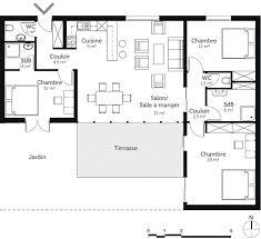 plan maison 3 chambres plain pied 570 best plan intérieur images on floor plans house