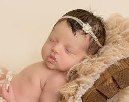 newborn headbands newborn headband etsy