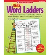 daily word ladders grades 4 u20136 by timothy v rasinski