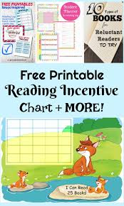 free printable summer reading incentive sticker chart