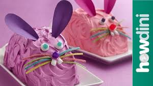 easter cakes how to make a bunny cake youtube