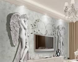 customize home interior wallpaper european angel photo mural
