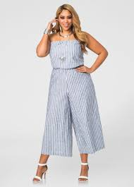 strapless wide leg jumpsuit cropped wide leg strapless jumpsuit plus size dresses