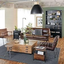 canapé philadelphie maison du monde bout de canapé 3 tiroirs métal noir maisons du monde