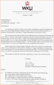 scholarship award letter yeager scholarship award notification jpg