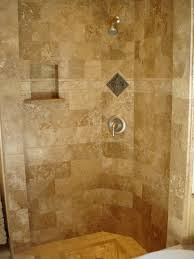 bathroom shower stalls with seat doorless walk in shower ideas