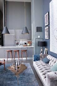 soft blue gray grey interior calming decor stress reducing colour