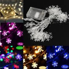 christmas lights on sale 2 5m 5m led snowflakes string christmas light tree ornament