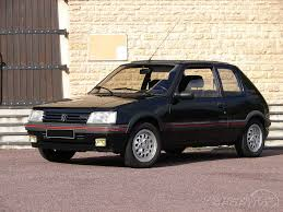 peugeot gti 1990 peugeot 205 gti 1 6 1984 1992 guide occasion
