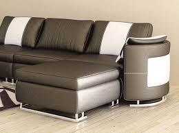 canapé d angle miami canapé angle en cuir vachette blanc