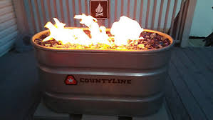 Diy Natural Gas Fire Pit by Diy Natural Gas Stock Tank Fire Pit Tractor Supply Co