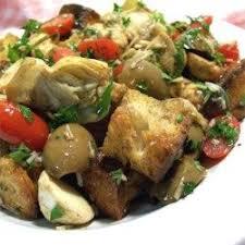 egg salad ina garten panzanella salad allrecipes com salads 2 pinterest