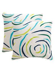 Safavieh Pillows Lollypop Pillows Set Of 2 Fashion Home