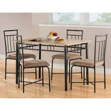 wrought iron dining room sets dining tables magnificent stainless steel top dining table round