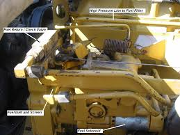 caterpillar cat 3116 wont pull fuel only runs off priming can
