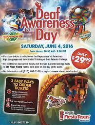 Six Flags San Antonio Deaf Awareness Day At Six Flags Fiesta Texas 2016 U2013 Deaf Network