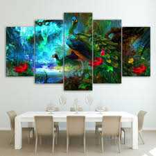 beautiful peacock painting promotion shop for promotional