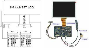 8 inch tft lcd display module digital lcd screen buy digital