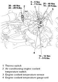 repair guides engine electrical sending units and sensors