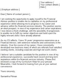 financial services cover letter hospital financial counselor