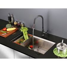 single handle kitchen faucet with pullout spray ruvati rvf1252rb pullout spray single handle kitchen faucet