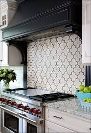 Kitchen  White Stacked Stone Backsplash How To Remove Grease From - Layered stone backsplash