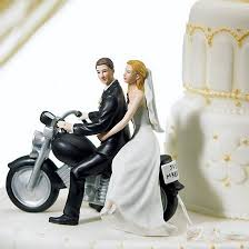 motorcycle wedding cake toppers just married motorcycle wedding cake topper