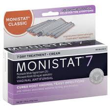 monistat 7 vaginal antifungal cream with disposable applicators