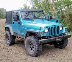 jeep blue any other jade jeeps on here jeep wrangler tj forum