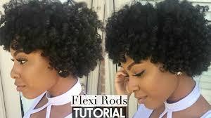 flexi rod stretch long 4b c hair natural hair flexi rod set on stretched hair tutorial heatless