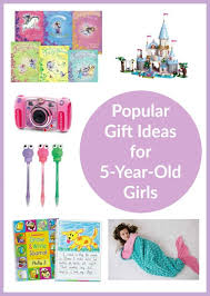 gift ideas for 5 year