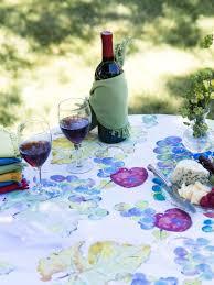 wine country tablecloth april u0027s attic sale linens u0026 kitchen