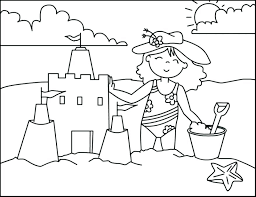 beach coloring pages preschool summer coloring pages preschoolers sheets for free preschool colorin