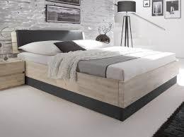 Schlafzimmer Bett Metall Doppelbett Imperia Aus Weiß Gebeizter Akazie Schlafzimmer