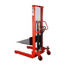 material handling u0026 industrial lift eco u201cems22nfp u201d fixed platform manual hydraulic stacker mobile