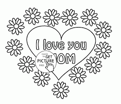 greeting card for mother u0027s day coloring page for kids coloring