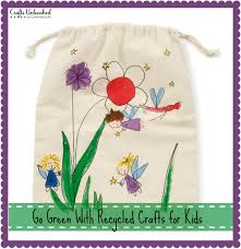 go green with recycled crafts for kids