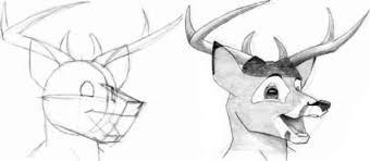 deer head drawings drawing human figure joshua nava arts