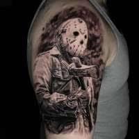 olio brandon of dark age tattoo studio in denton tx tattoo artist