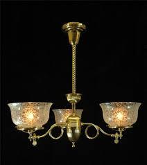 antique chandelier victorian 1890 antique chandelier restored brass gas light etch