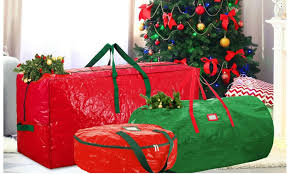 christmas wrapping bags storage bags for christmas trees and wreaths groupon
