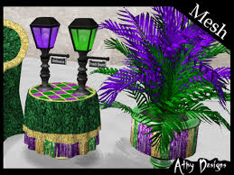 mardi gras mesh second marketplace mesh mardi gras party club set