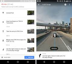Street View Google Map Google Maps Now Uses Street View To Show You Exactly Where To Make