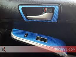 Car Interior Carbon Fiber Vinyl Rwraps Blue 4d Carbon Fiber Vinyl Wrap Car Wrap Film