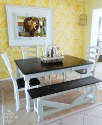 chalk paint farmhouse table painting dining table ideas chalk paint top furniture black