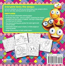 emoji crazy coloring book newbourne media 9781988603131 amazon