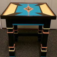 Painted Accent Table Best Painted End Tables Products On Wanelo