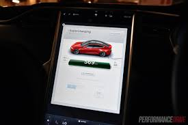tesla model s charging 2016 tesla model s 90d 7 1 review video performancedrive