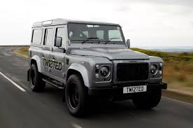 new land rover defender 2013 land rover defender twisted performance v8 first drive review